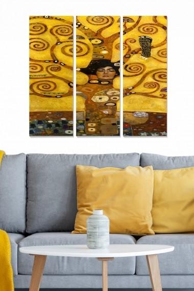 Tablou decorativ (set 3 piese) Bianca 553BNC3164 multicolor