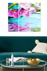 Tablou decorativ (set 3 piese) Bianca 553BNC3264 multicolor