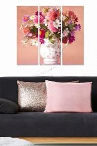 Tablou decorativ (set 3 piese) Bianca 553BNC3380 multicolor