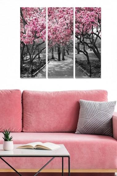 Tablou decorativ (set 3 piese) Bianca 553BNC3471 multicolor