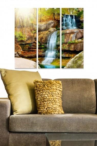 Tablou decorativ (set 3 piese) Bianca 553BNC3705 multicolor