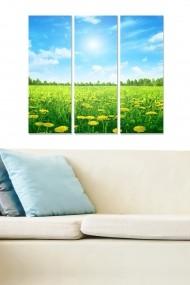 Tablou decorativ (set 3 piese) Bianca 553BNC3771 multicolor