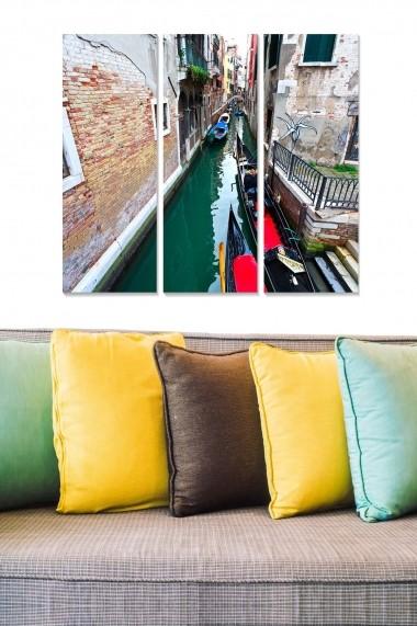 Tablou decorativ (set 3 piese) Bianca 553BNC3827 multicolor
