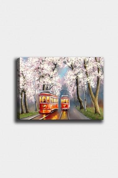 Tablou decorativ din panza Bract 529TCR1721 multicolor