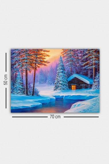 Tablou decorativ din panza Bract 529TCR1728 multicolor