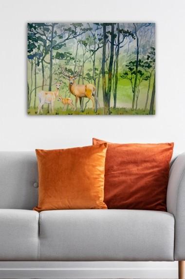 Tablou decorativ din panza Bract 529TCR1744 multicolor