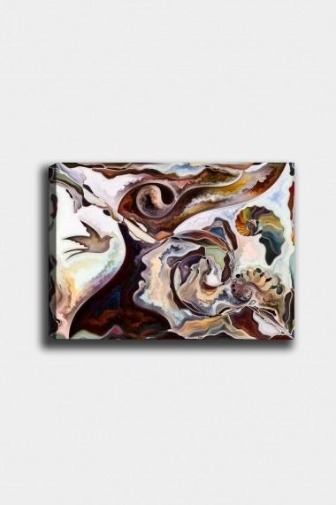 Tablou decorativ din panza Bract 529TCR1746 multicolor