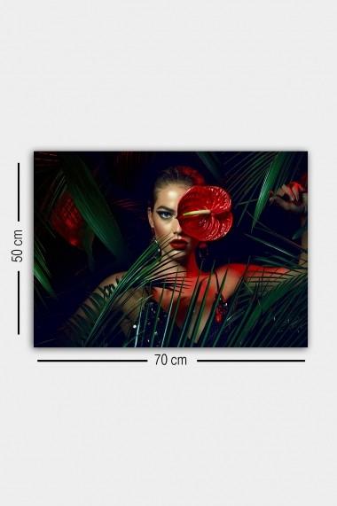 Tablou decorativ din panza Bract 529TCR1757 multicolor