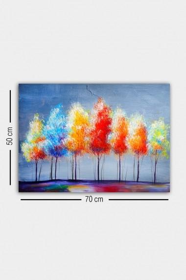 Tablou decorativ din panza Bract 529TCR1758 multicolor