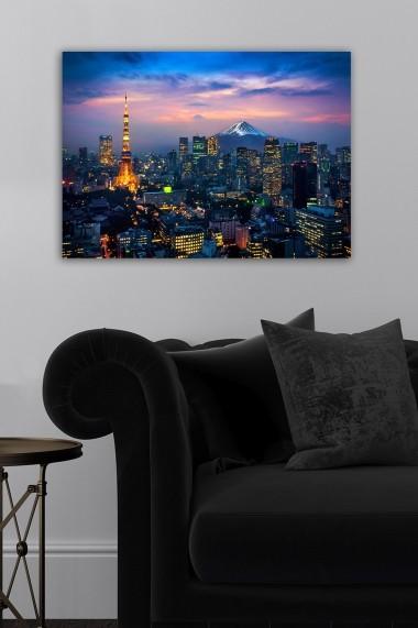 Tablou decorativ din panza Bract 529TCR1786 multicolor