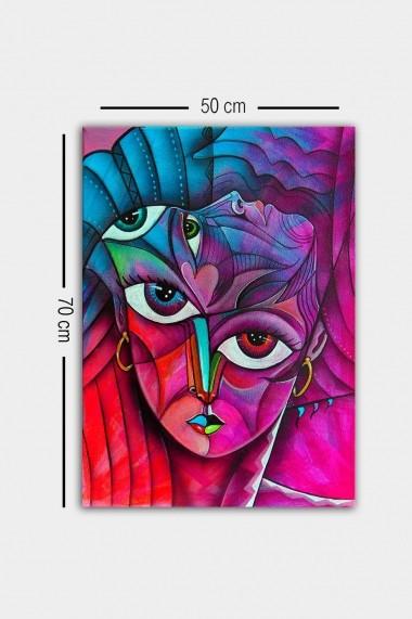 Tablou decorativ din panza Bract 529TCR1796 multicolor