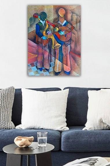 Tablou decorativ din panza Bract 529TCR1804 multicolor