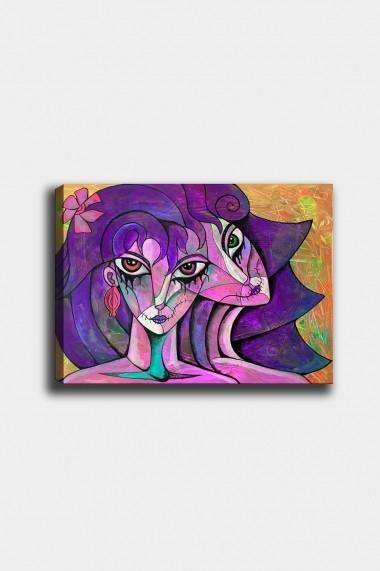 Tablou decorativ din panza Bract 529TCR1811 multicolor