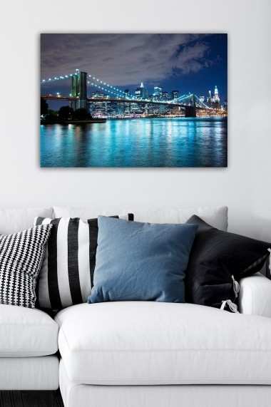 Tablou decorativ din panza Bract 529TCR1818 multicolor