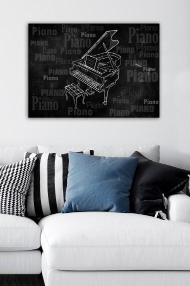 Tablou decorativ din panza Bract 529TCR1835 multicolor