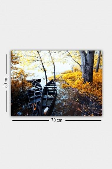 Tablou decorativ din panza Bract 529TCR1837 multicolor