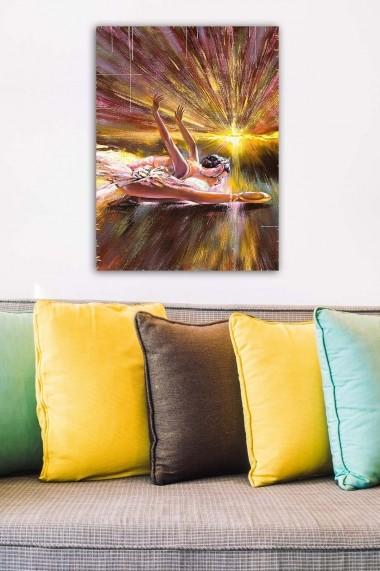 Tablou decorativ din panza Bract 529TCR1839 multicolor