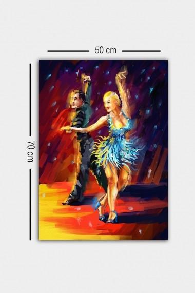 Tablou decorativ din panza Bract 529TCR1842 multicolor