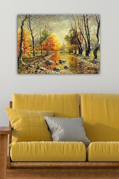 Tablou decorativ din panza Bract 529TCR1843 multicolor