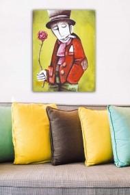 Tablou decorativ din panza Bract 529TCR1858 multicolor