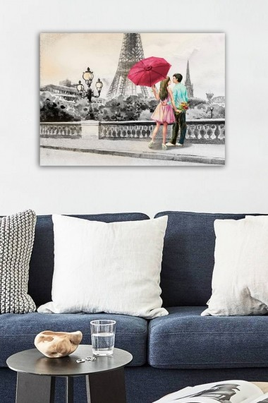 Tablou decorativ din panza Bract 529TCR1864 multicolor