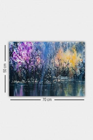 Tablou decorativ din panza Bract 529TCR1882 multicolor