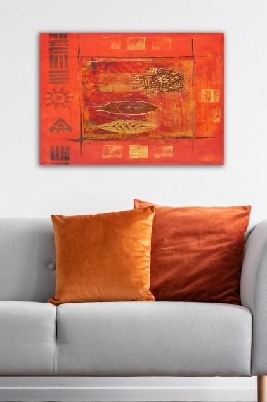 Tablou decorativ din panza Bract 529TCR1888 multicolor