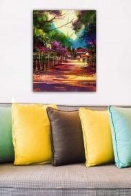 Tablou decorativ din panza Bract 529TCR1902 multicolor