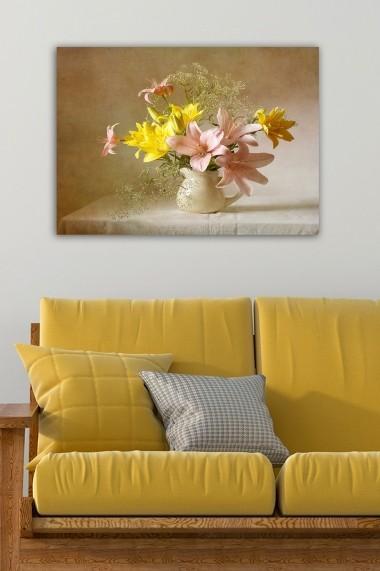 Tablou decorativ din panza Bract 529TCR1913 multicolor