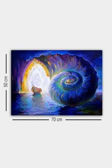 Tablou decorativ din panza Bract 529TCR1919 multicolor