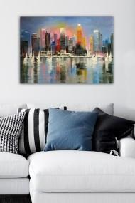 Tablou decorativ din panza Bract 529TCR1939 multicolor
