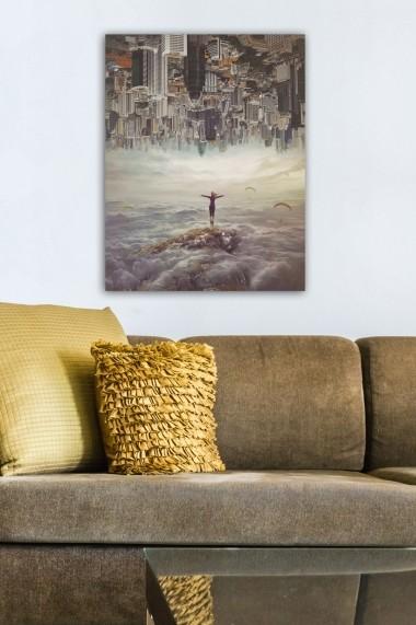 Tablou decorativ din panza Bract 529TCR1943 multicolor