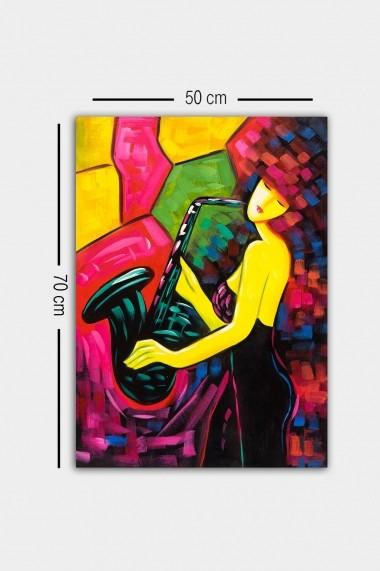 Tablou decorativ din panza Bract 529TCR1970 multicolor