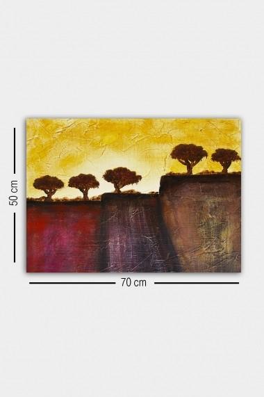 Tablou decorativ din panza Bract 529TCR1972 multicolor