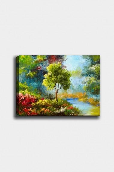 Tablou decorativ din panza Bract 529TCR1983 multicolor