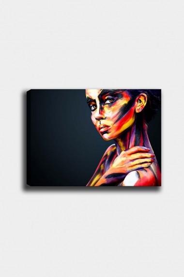 Tablou decorativ din panza Bract 529TCR1986 multicolor
