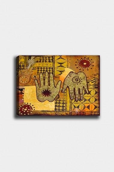 Tablou decorativ din panza Bract 529TCR1995 multicolor