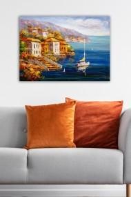 Tablou decorativ din panza Bract 529TCR2122 multicolor