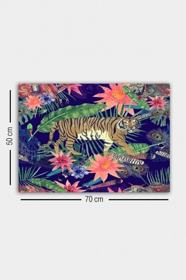 Tablou decorativ din panza Bract 529TCR2143 multicolor