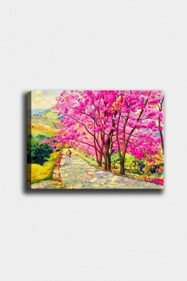 Tablou decorativ din panza Bract 529TCR2152 multicolor