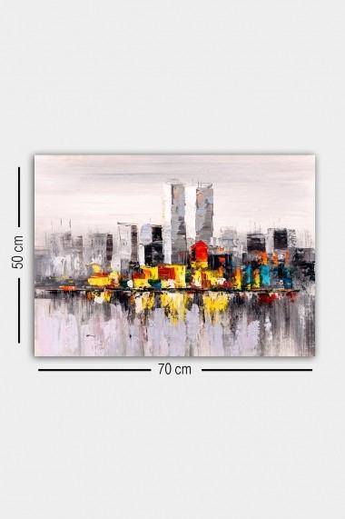Tablou decorativ din panza Bract 529TCR2158 multicolor