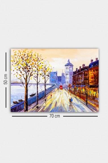 Tablou decorativ din panza Bract 529TCR2160 multicolor