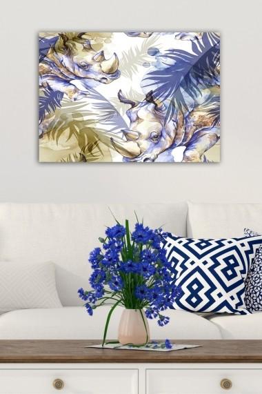 Tablou decorativ din panza Bract 529TCR2165 multicolor
