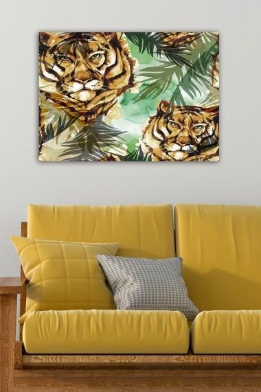 Tablou decorativ din panza Bract 529TCR2166 multicolor