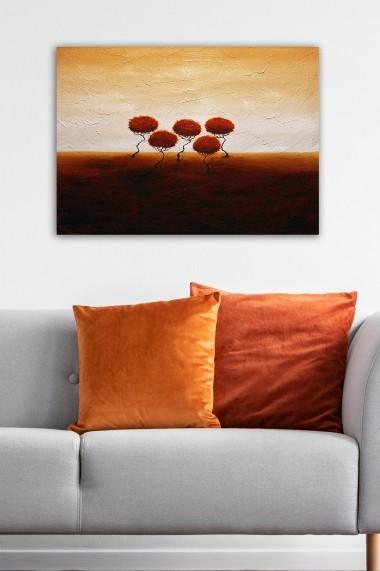 Tablou decorativ din panza Bract 529TCR2168 multicolor