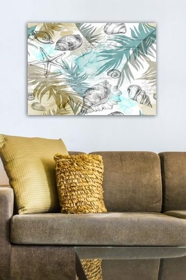 Tablou decorativ din panza Bract 529TCR2172 multicolor