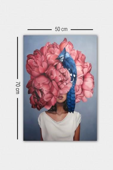 Tablou decorativ din panza Bract 529TCR2175 multicolor