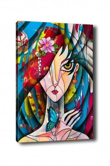Tablou decorativ din panza Bract 529TCR1211 multicolor