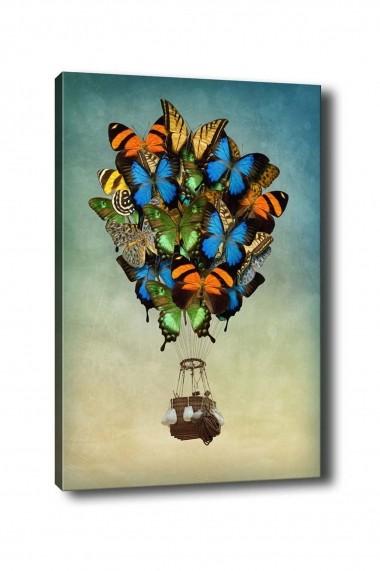 Tablou decorativ din panza Bract 529TCR1235 multicolor