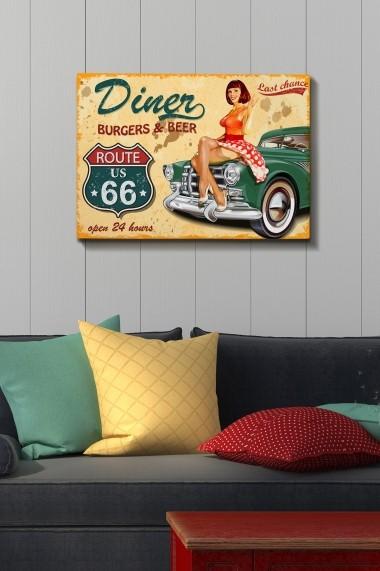 Tablou decorativ din panza Bract 529TCR1291 multicolor